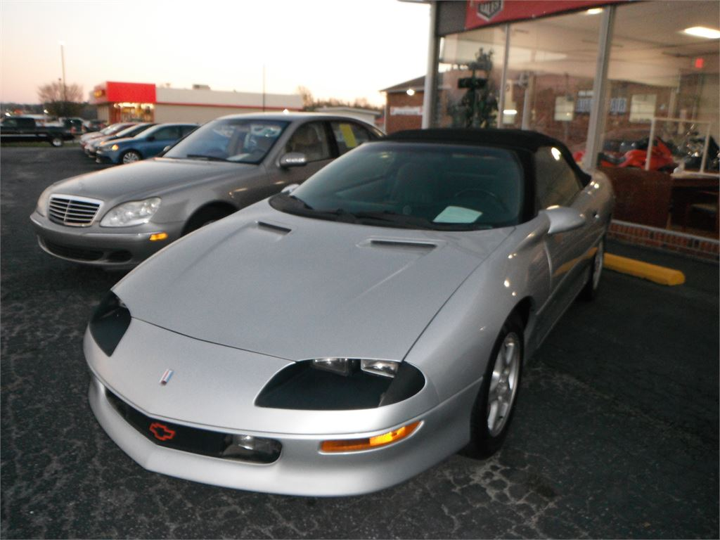 1997 Chevrolet Camaro Convertible for sale by dealer