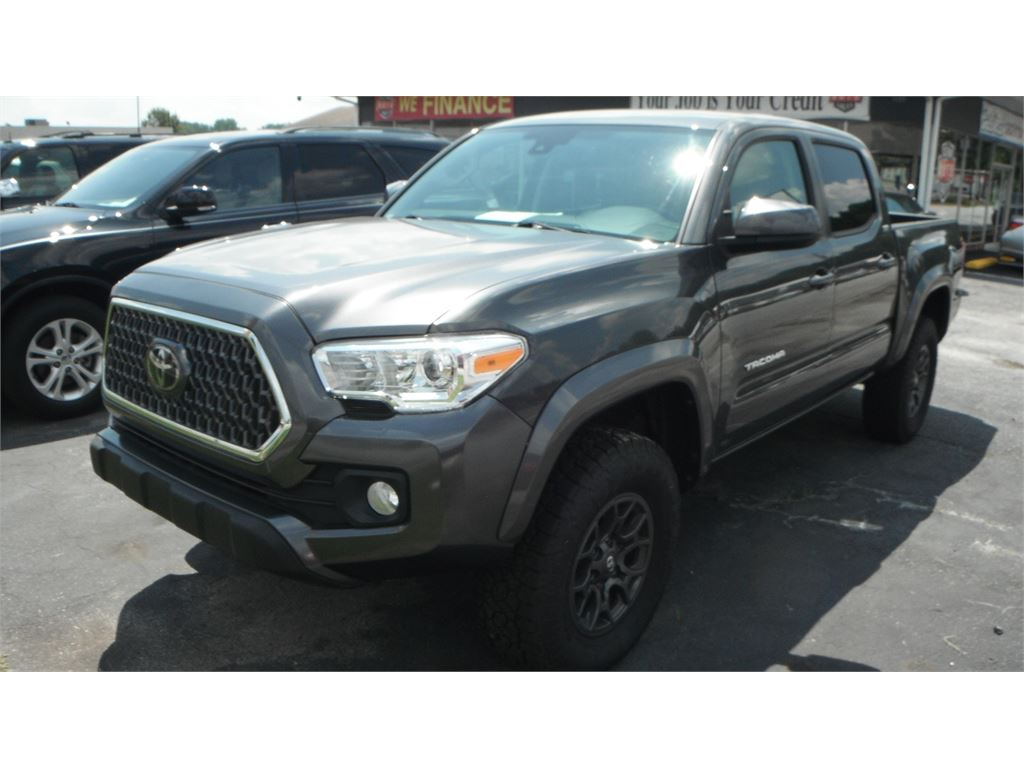 2018 Toyota Tacoma SR5 Double Cab Long Bed V6 6AT 4WD for sale by dealer