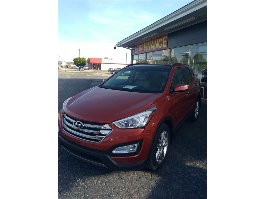 2015 HYUNDAI SANTA FE SPORT 2.0T AWD for sale by dealer
