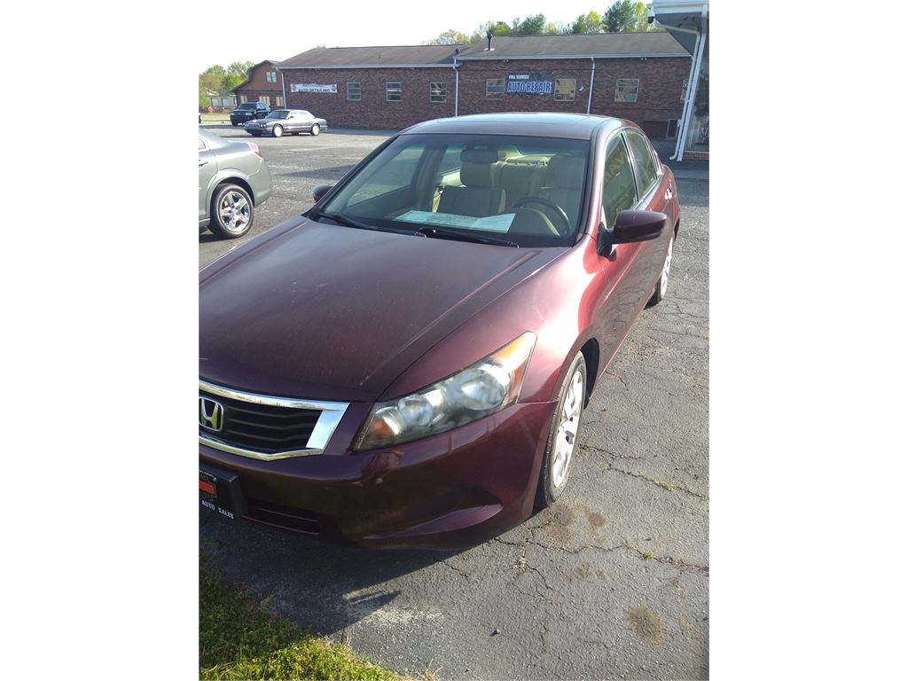 2009 Honda Accord EX-L Sedan AT for sale by dealer