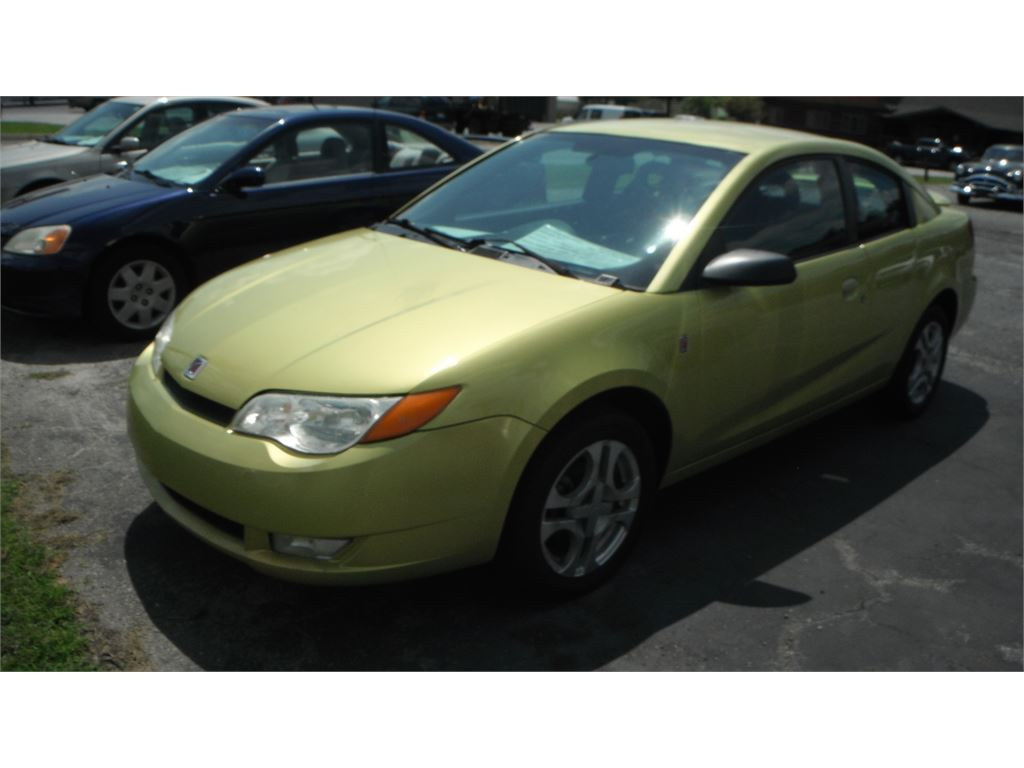 2004 Saturn ION Quad Coupe 3 for sale by dealer