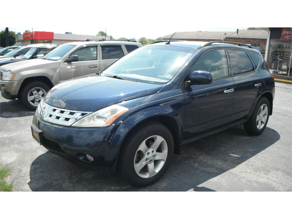 2003 Nissan Murano SL AWD for sale by dealer