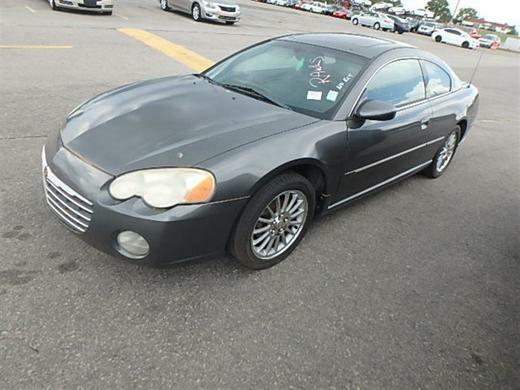2004 CHRYSLER SEBRING LIMITED for sale by dealer