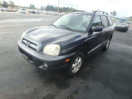 2005 HYUNDAI SANTA FE GLS/LX for sale by dealer
