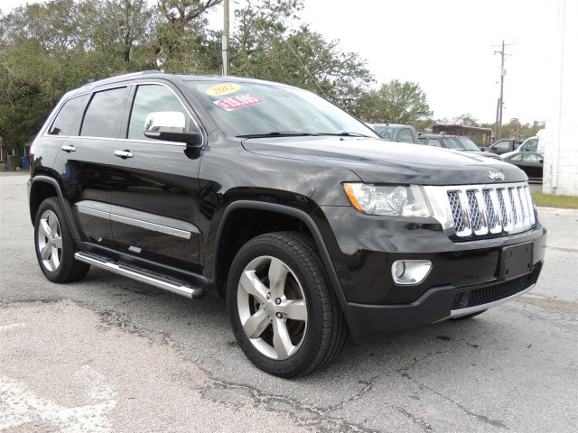 2012 JEEP GRAND CHEROKEE OVERLAND for sale by dealer