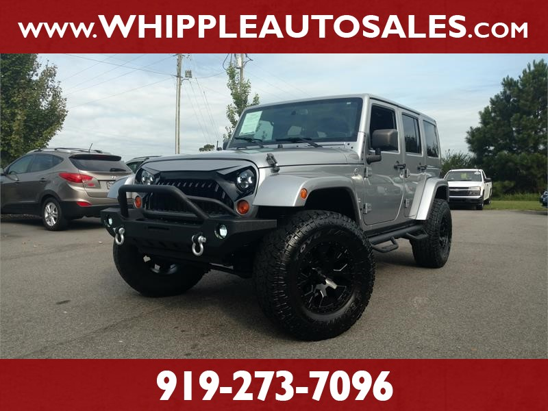2013 JEEP WRANGLER UNLIMITED SAHARA for sale by dealer