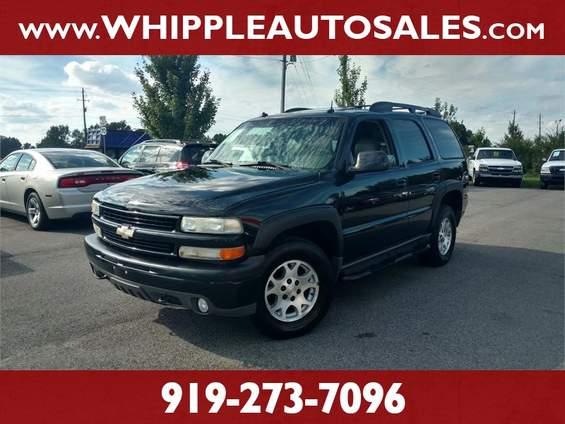 2003 CHEVROLET TAHOE Z71 for sale by dealer