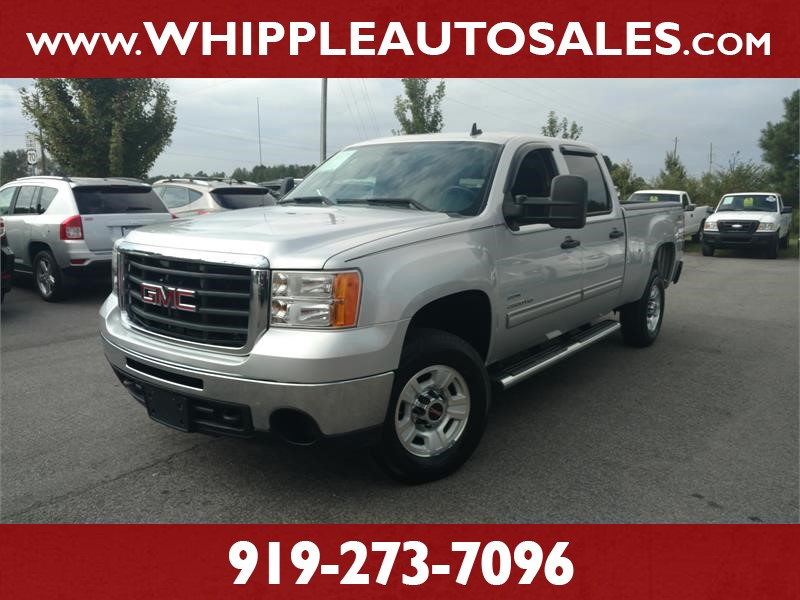 2010 GMC SIERRA 2500HD SLE CREW CAB for sale by dealer