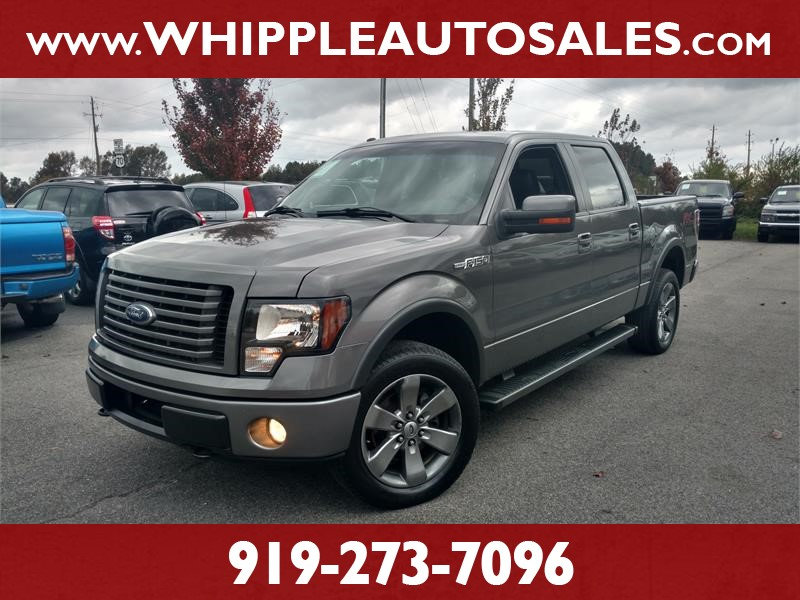 2012 FORD F-150 FX4 SUPERCREW for sale by dealer