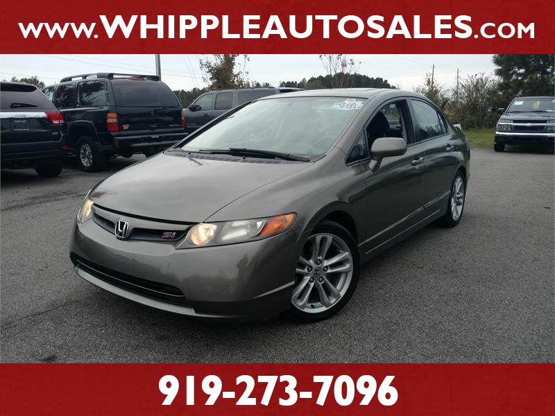 2007 HONDA CIVIC SI (1-OWNER) for sale by dealer