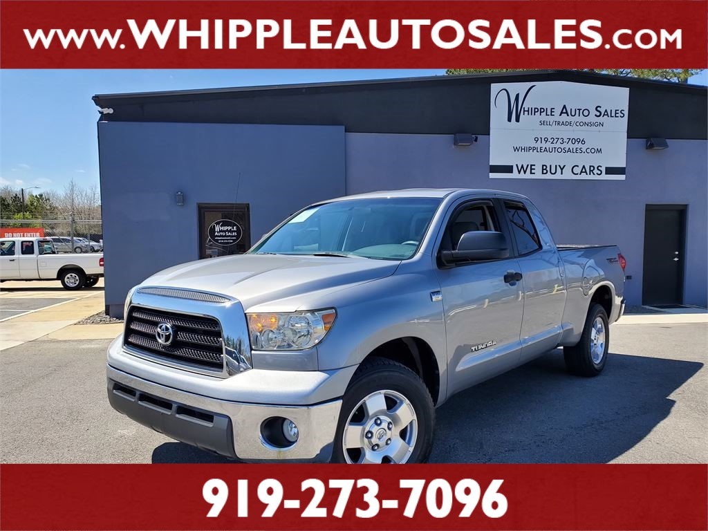 2007 TOYOTA TUNDRA SR5 DOUBLECAB for sale by dealer