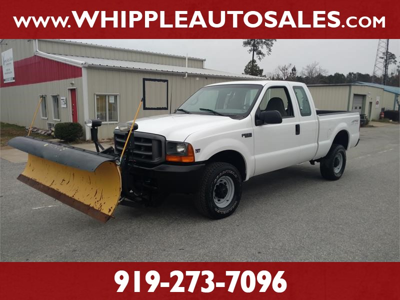 1999 FORD F-250 SUPERCAB PLOW TRUCK (1-OWNER) for sale by dealer