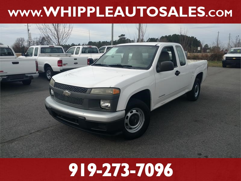 2004 CHEVROLET COLORADO for sale by dealer