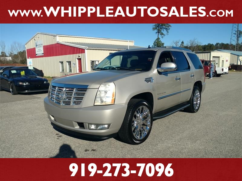 2008 CADILLAC ESCALADE LUXURY for sale by dealer