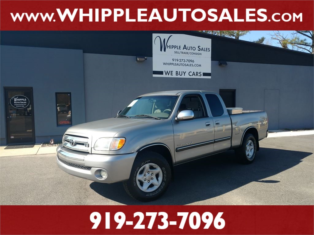 2004 TOYOTA TUNDRA SR5 ACCESSCAB for sale by dealer