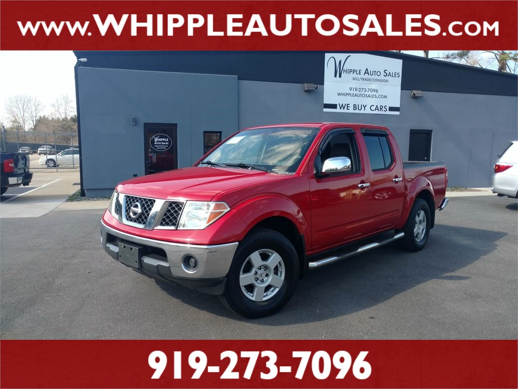 2006 NISSAN FRONTIER SE CREWCAB for sale by dealer
