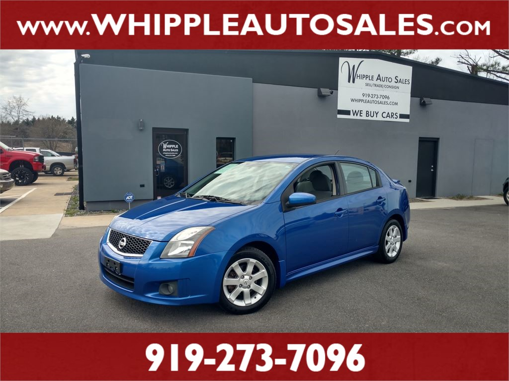 2012 NISSAN SENTRA SR for sale by dealer