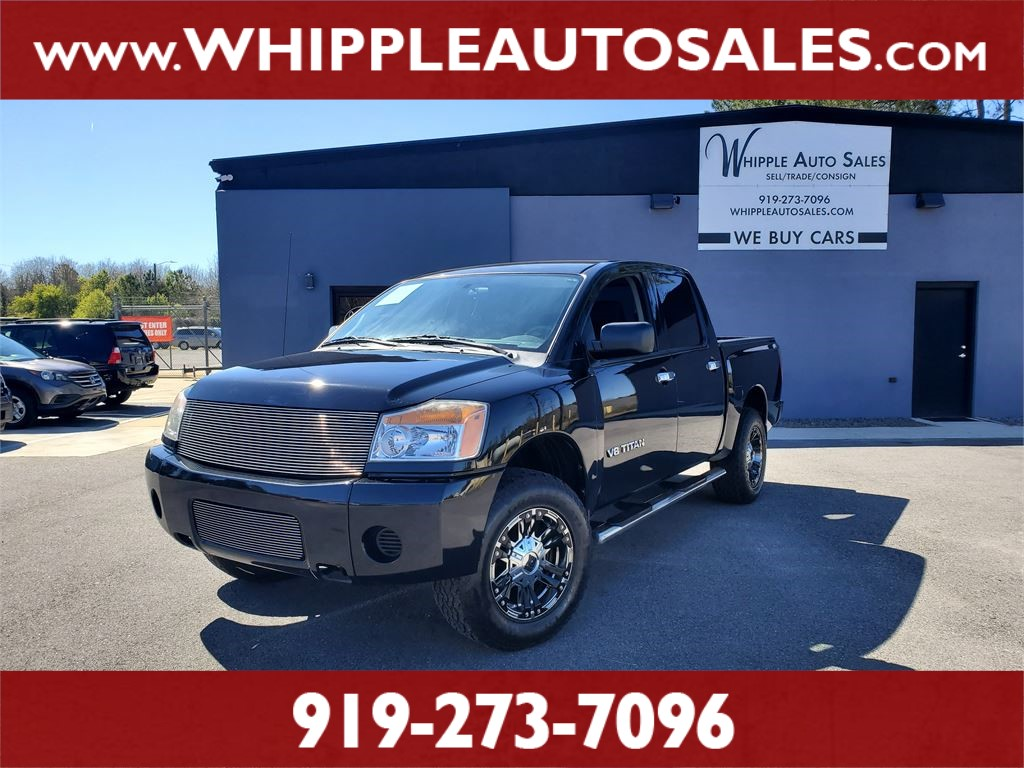 2011 NISSAN TITAN S CREWCAB for sale by dealer