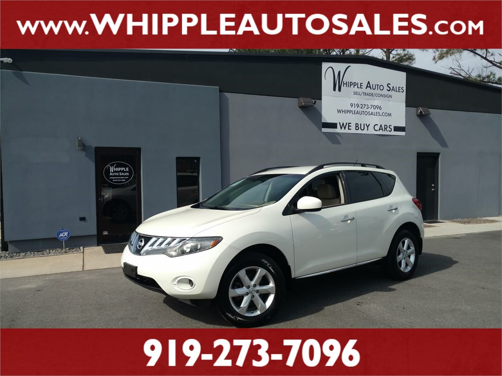 2009 NISSAN MURANO S AWD for sale by dealer