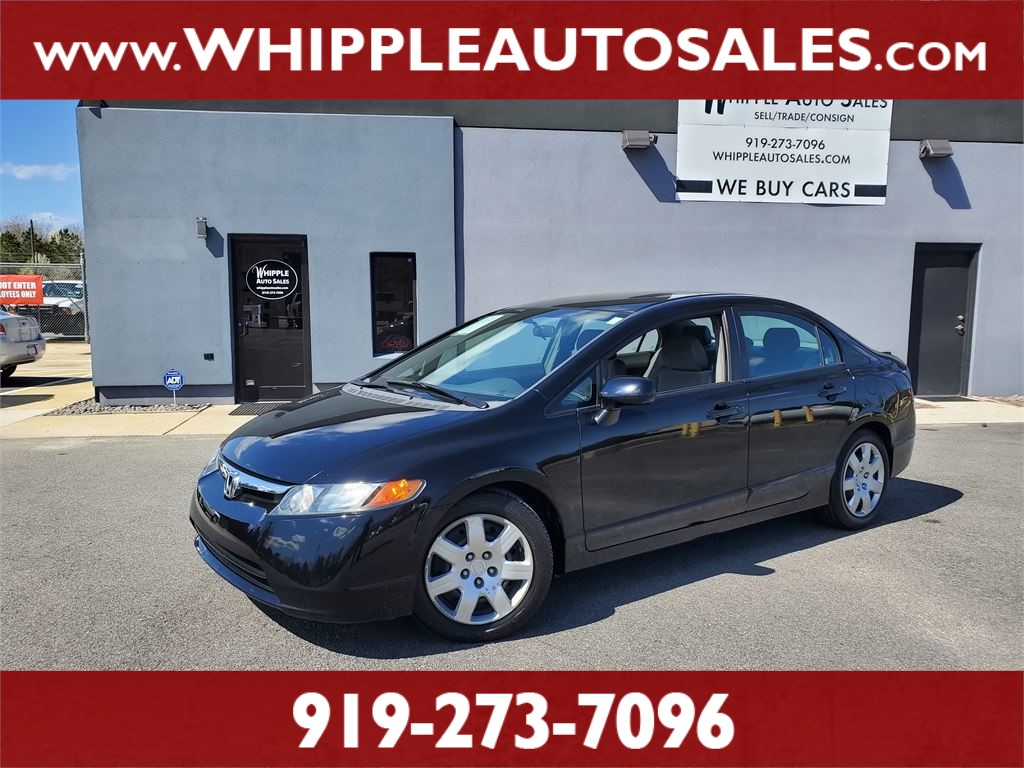 2008 HONDA CIVIC LX for sale by dealer