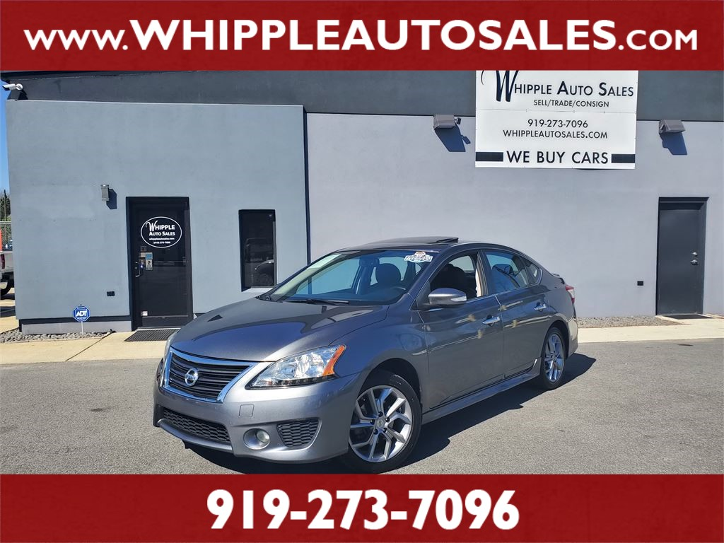 2015 NISSAN  SENTRA SR (1-OWNER) for sale by dealer