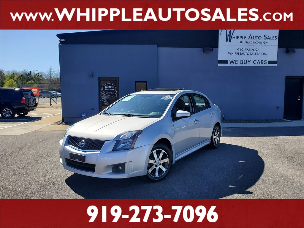 2012 NISSAN SENTRA SR (1-OWNER) for sale by dealer