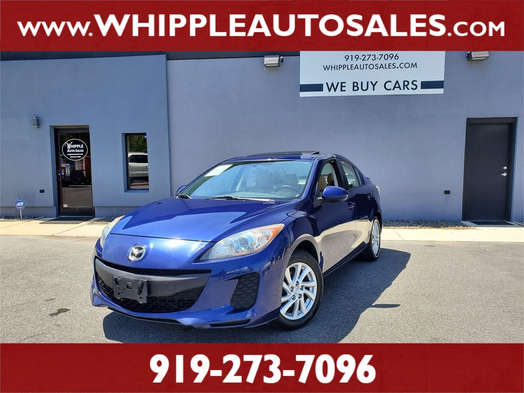 2012 MAZDA MAZDA3i (1-OWNER) for sale by dealer