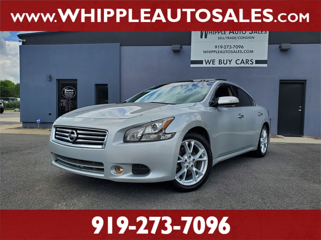 2012 NISSAN MAXIMA SV for sale by dealer