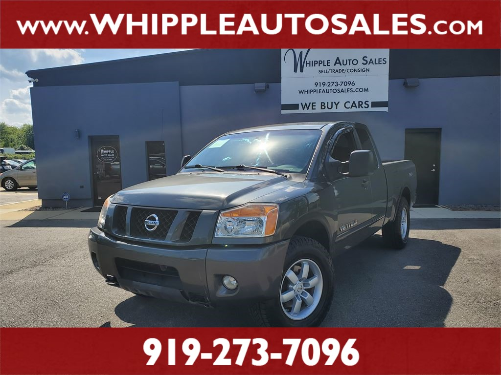2008 NISSAN TITAN PRO-4X for sale by dealer