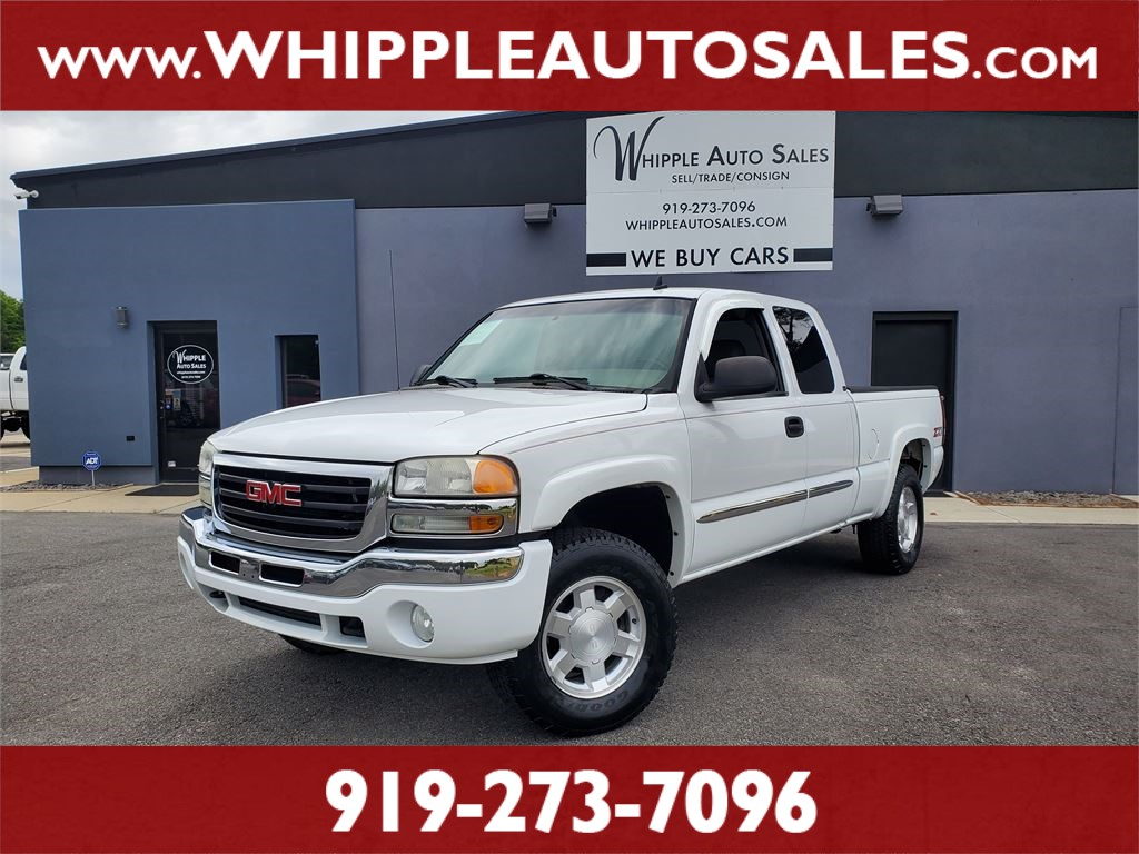 2007 GMC SIERRA CLASSIC SLT for sale by dealer