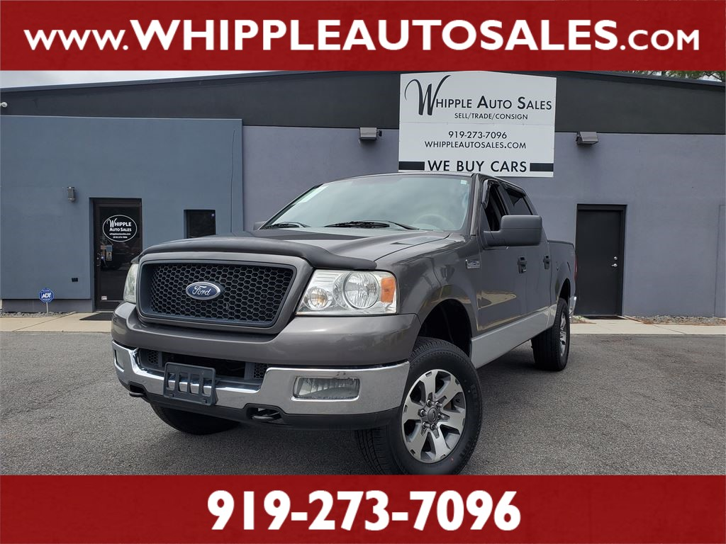 2005 FORD F-150 XLT SUPERCREW for sale by dealer