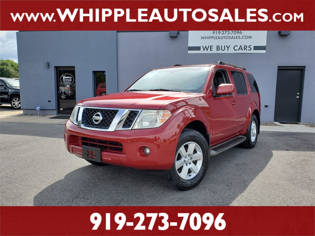 2009 NISSAN PATHFINDER SE for sale by dealer