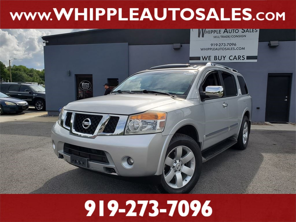 2012 NISSAN ARMADA SL (1-OWNER) for sale by dealer