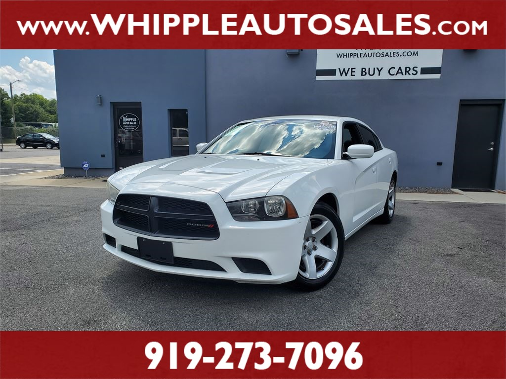2012 DODGE CHARGER POLICE (1-OWNER) for sale by dealer