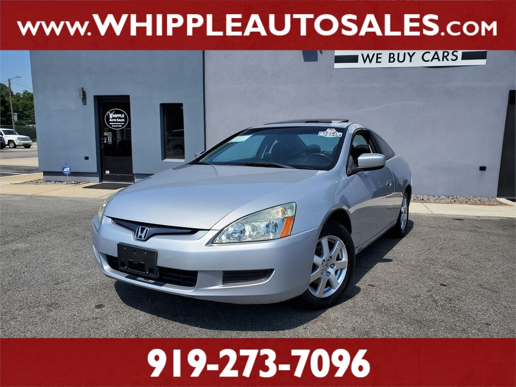 2005 HONDA ACCORD EX-L (1-OWNER) for sale by dealer