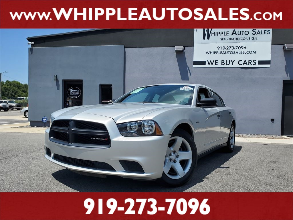 2014 DODGE CHARGER POLICE (1-OWNER) for sale by dealer