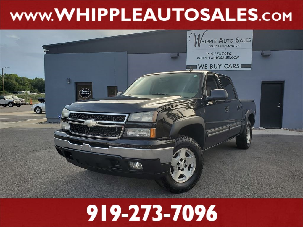 2006 CHEVROLET SILVERADO Z71 for sale by dealer