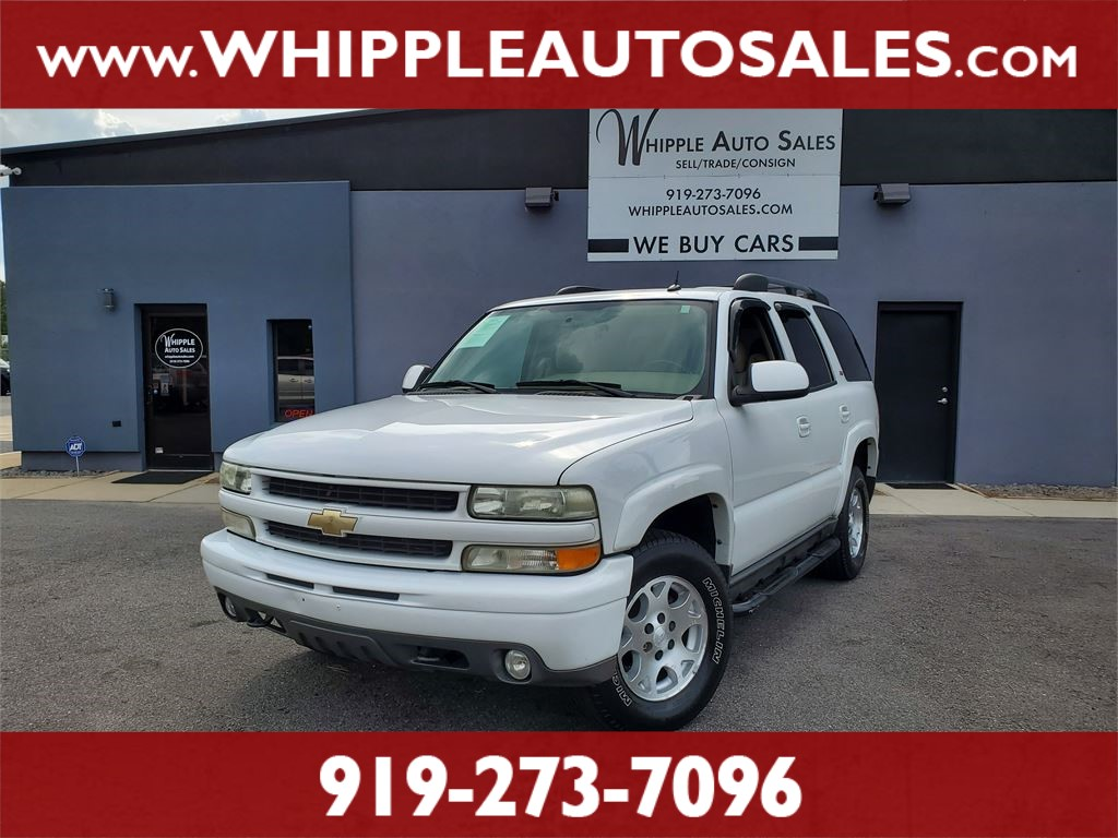2005 CHEVROLET TAHOE Z71 for sale by dealer