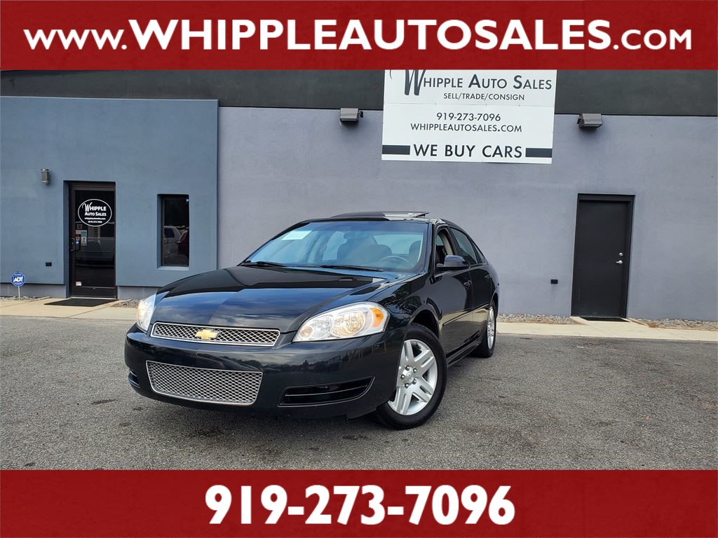 2013 CHEVROLET IMPALA LT for sale by dealer
