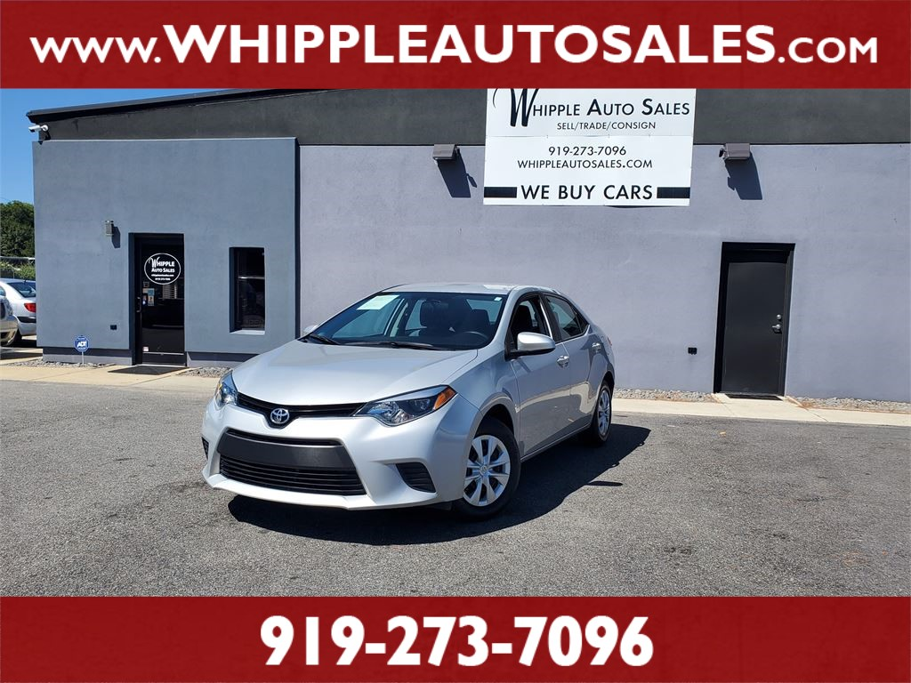 2015 TOYOTA COROLLA L for sale by dealer