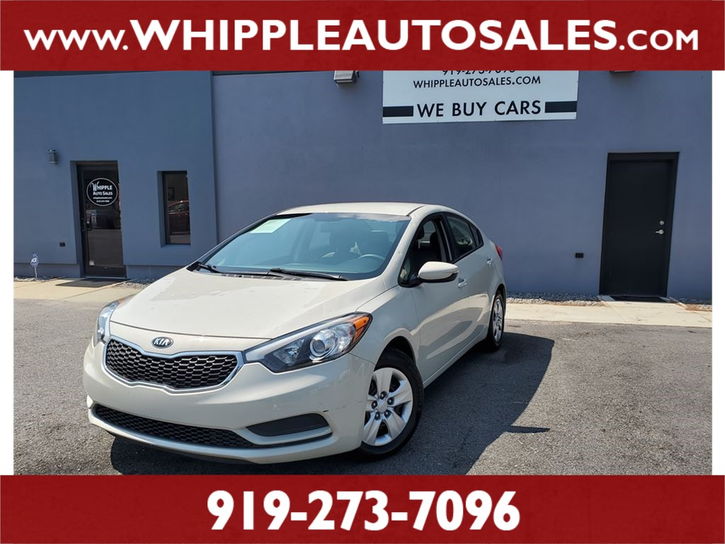 2015 KIA FORTE LX for sale by dealer