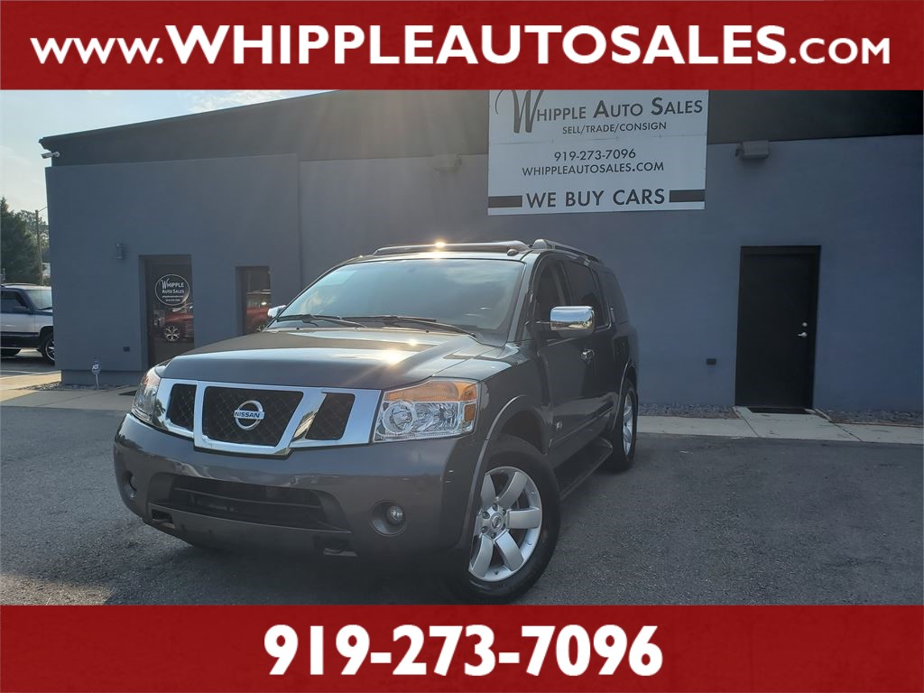 2008 NISSAN ARMADA LE for sale by dealer