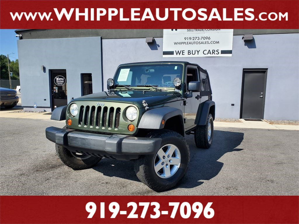 2008 JEEP WRANGLER X for sale by dealer