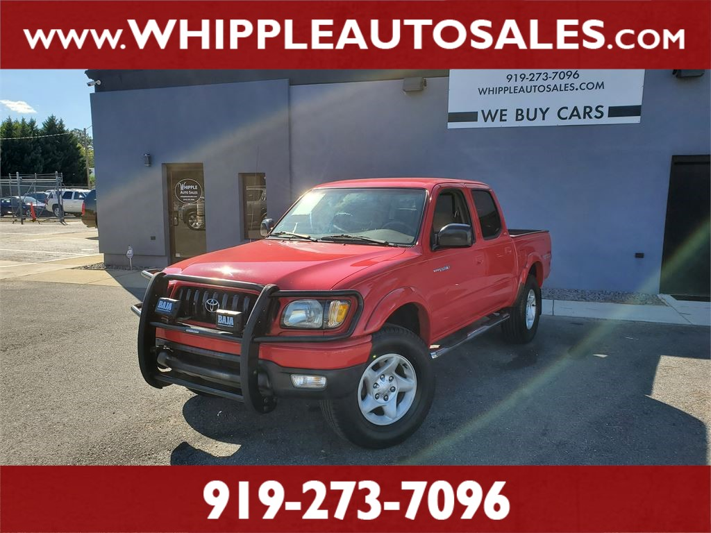 2003 TOYOTA TACOMA SR5 DOUBLECAB for sale by dealer
