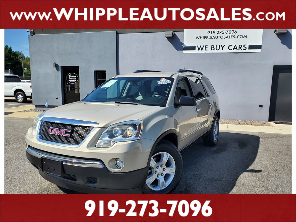 2009 GMC ACADIA SLE (1-OWNER) for sale by dealer