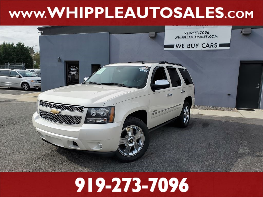 2010 CHEVROLET  TAHOE LTZ (1-OWNER) for sale by dealer