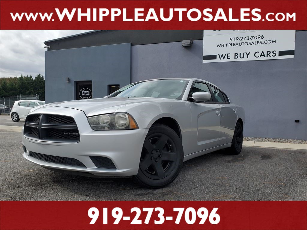 2011 DODGE CHARGER POLICE  for sale by dealer
