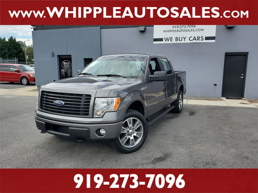 2014 FORD F150 STX SUPERCREW (1-OWNER) for sale by dealer