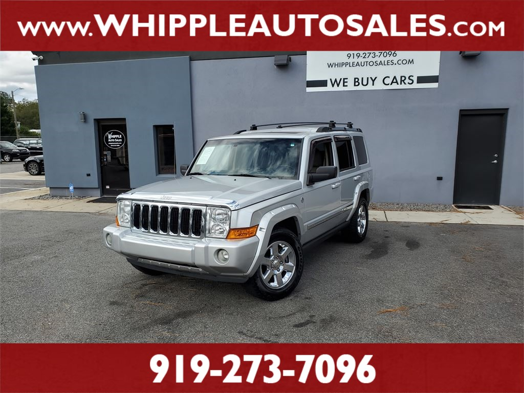 2006 JEEP COMMANDER LIMITED for sale by dealer