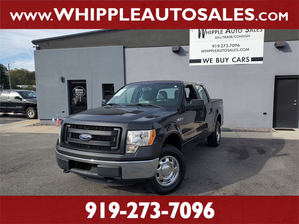 2013 FORD F-150 XL SUPERCREW for sale by dealer